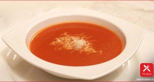 سوپ گوجه غرنگی کبابی ترکیه