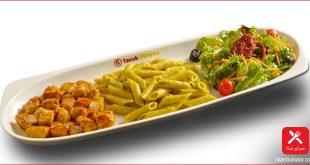 خوراک مرغ ترکیه با عطر آویشن