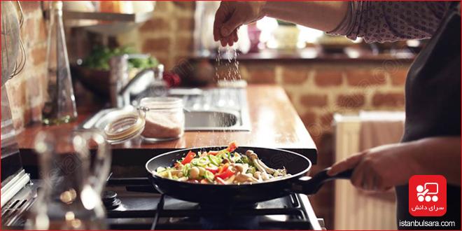 افعال آشپزی در زبان ترکی استانبولی