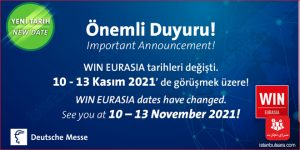 نمایشگاه اتوماسیون صنعتی اوراسیا ۲۰۲۱ استانبول
