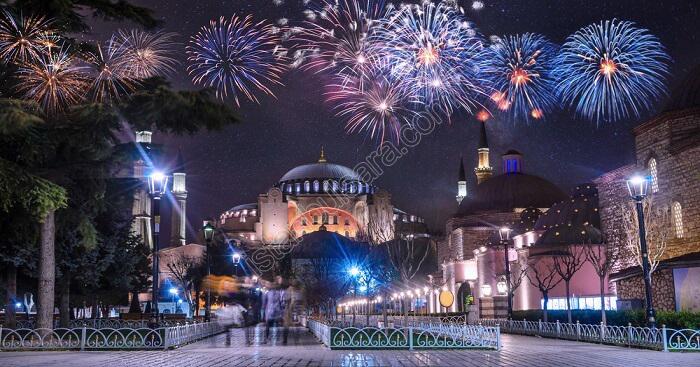 جشن سال نو استانبول