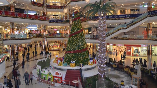استانبول در دسامبر، خرید در سال نو میلادی