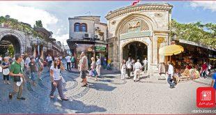هتل های اطراف بازار بزرگ استانبول