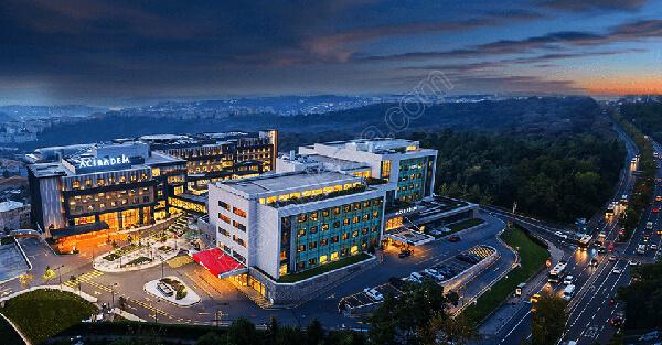بیمارستان آجی بادام ماسلاک استانبول