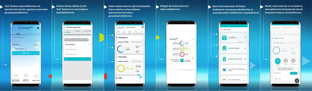 معرفی اپلیکیشن Türk Telekom Online İşlemler در ترکیه